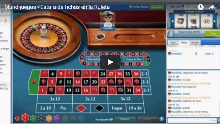 Mundijuegos: estafas en la Ruleta  (Vídeo de demostración)