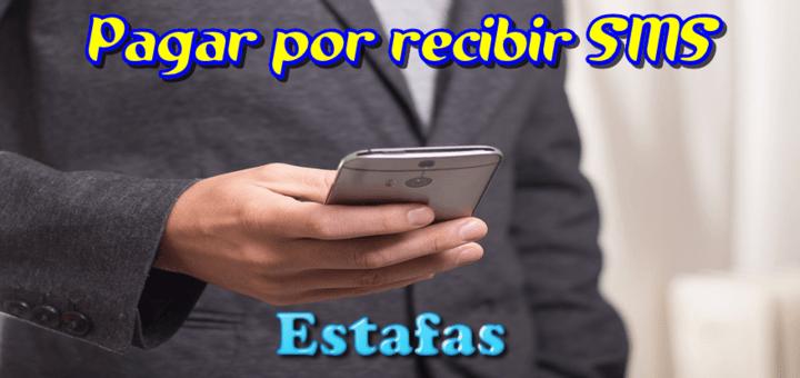El servicio de SMS de pago por recepción de mensajes