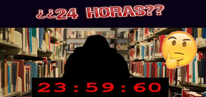 """Las """"24 horas"""" de la biblioteca, para cabrearse"""