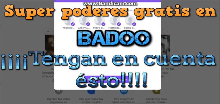 Conseguir superpoderes en la red social Badoo gratis – ¿Error o estafa?