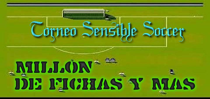 Torneo del juego Sensible Soccer para dar premios de fichas gratis en mundijuegos