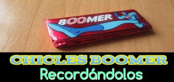 Chicles Boomer – Recuerdo a éstos deliciosos chicles – ¿se pueden comprar?