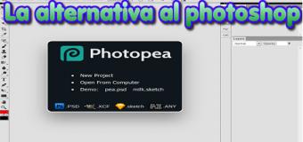 """El editor de imágenes """"photopea"""" para formatos PSD. Alternativa al Photoshop"""