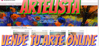 Artelista, página para vender tu arte o comprar arte