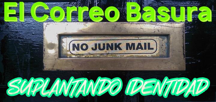 El correo basura con suplantación de identidad