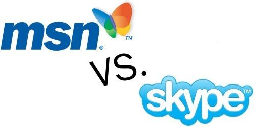 Skype VS MSN