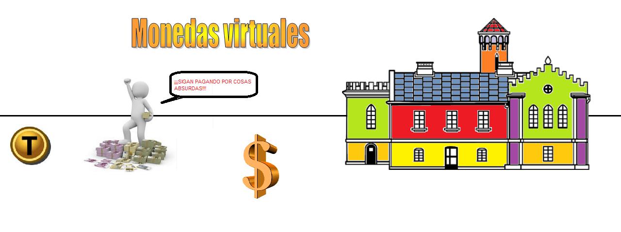 """Las compras de """"monedas"""" en prácticamente todos los juegos online"""