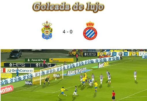 Una goleada de permanencia (UD Las Palmas 4-0 RCD Espanyol)