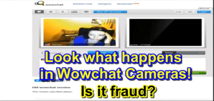 El chat de Wowchat. Posibles grabaciones en las webcams. ¿Estafa? ¿Timo? vean