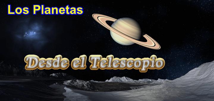 Los planetas grabados desde telescopio en Livestream