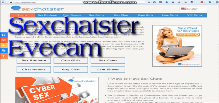 Sexchatster y Evecam, chat webcam ¿realmente gratis?