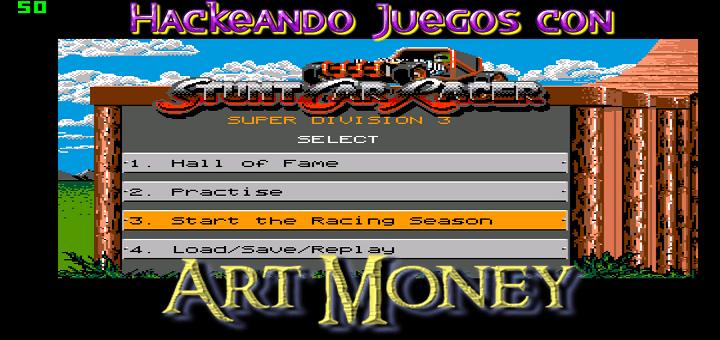 Hackeando juegos con Art Money – Stunt Car Racer