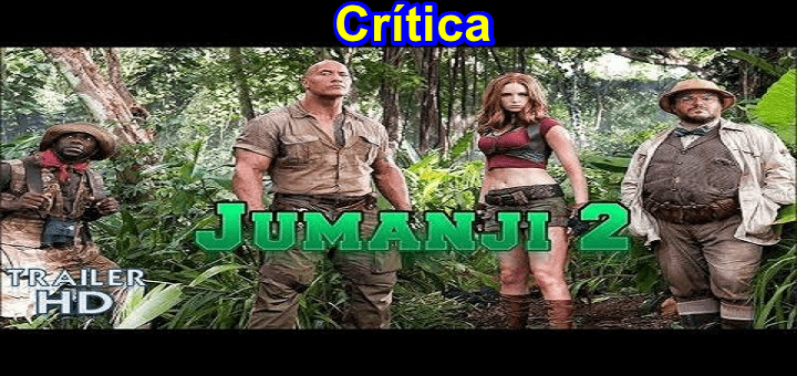 La puta basura de Jumanji 2