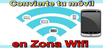 Minitutorial cómo convertir el teléfono móvil (celular) en módem Wifi