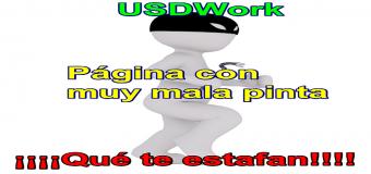 USDWork, otra página de estafas mas – Fraudes online