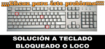 Cómo solucionar problema de teclado  cuando se deshabilitan teclas – Teclado loco – otros caracteres