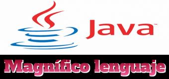 Java, ese magnífico lenguaje de programación