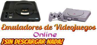 Emuladores de juegos de videoconsolas antiguas ¡sin instalar programas!