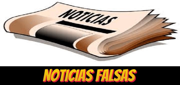 Noticias falsas de los medios de comunicación