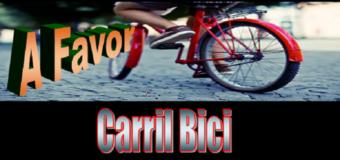 Carril Bici – A favor de que se construyan en todos sitios