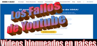 Conectarse a un Proxy – Vídeos bloqueados en países de youtube