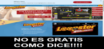 Loopster no es gratis aunque diga FREE – Engaños online