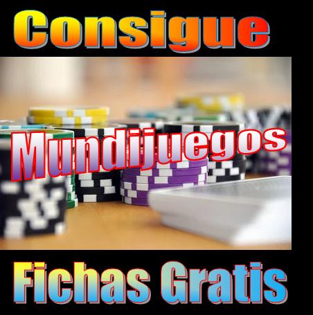 ℹ Conseguir fichas gratis en Mundijuegos.com