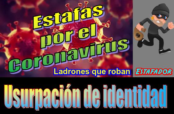 🌍 Estafadores que aprovechan el Coronavirus para robar