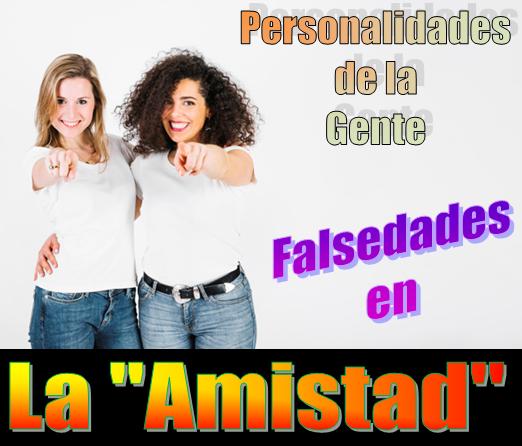 🔍 Los supuestos amigos y la falsedad de la gente