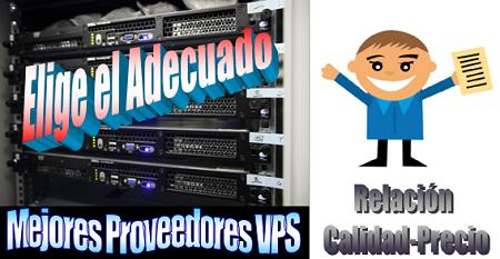 Proveedores de servidores virtuales – Valoración Top 4
