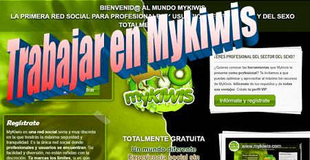 Red Mykiwis y la opción de profesional (trabajar en Mykiwis)