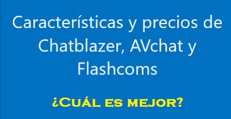 Chatblazer, Flashcoms y AVchat
