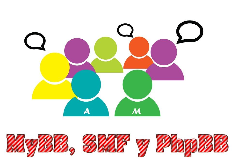 MyBB, SMF y PhpBB