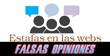 Las sospechosas opiniones y perfiles de usuarios en ciertas webs